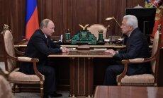 Putins nomaina jau piekto gubernatoru kopš septembra beigām