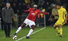 Mančestras 'United' UEFA Eiropas līgas astotdaļfināla mačā netiek galā ar 'Rostov'