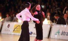 Skaisti kadri: Ostapenko virpuļo deju laukumā