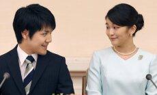 Japānas princese Makao atliek kāzas – vēloties vēl pāris gadus padomāt