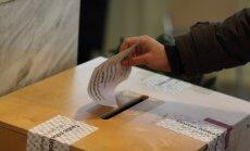 Vēlētāju lielās aktivitātes dēļ Frankfurtes Vēlēšanu komisijai nācies kopēt vēlēšanu zīmes