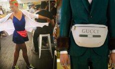 Modes kliedziens: stilīgās gurnu somas, kas topā bija deviņdesmitajos gados