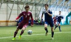 Latvijas U-21 futbolisti EČ kvalifikācijas spēlē zaudē Maltai