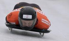 Tomass Dukurs ātrāks par Martinu Dukuru treniņos pirms PK pirmā posma