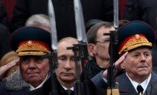 Putins paziņo, ka Krievijas karš ar Ukrainu ir 'maz ticams'