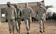 ASV desantniekus Baltijā nomaina amerikāņu smagās bruņutehnikas rota