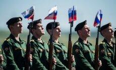 Krievijas bruņotie spēki rietumos ievērojami paaugstina kaujas gatavību