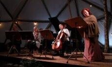 Foto: Pasaules koncertzāļu zvaigznes zaļumos. Sācies festivāls 'Sansusī'