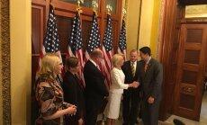 Mūrniece Vašingtonā saņēmusi ASV apliecinājumu pildīt NATO saistības