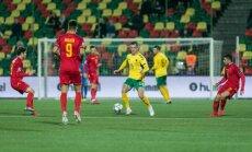 Lietuva zaudē vietu UEFA Nāciju līgas C divīzijā