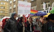Гей-парад прошел без происшествий: в нем участвовали сотни человек