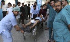 Sprādzienā Kabulā nogalināti septiņi cilvēki; vēl vismaz 15 ievainoti