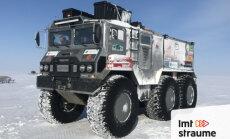 ZeKurbulis video: pa mamutu pēdām ar Ziemeļpolam būvētu auto