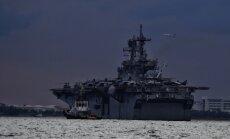 Иран заявил о прибытии в Персидский залив корабля США с химическими веществами