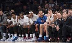 'Knicks' bez Porziņģa NBA spēlē zaudē 'Raptors'