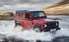 'Land Rover' 70 gadu jubilejā – 'Defender' V8 versija