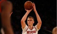 Porziņģis aizvadījis nepilnvērtīgu treniņu ar 'Knicks' komandu