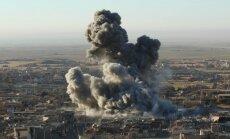 Sīrijā koalīcijas uzlidojumā nogalināts 'Daesh' galvenais finansists