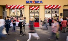 ФОТО: В Риге открылся первый в Балтии магазин Maxima Express