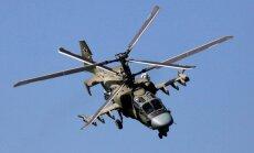 В Сирии заметили новейшие российские вертолеты Ми-28Н и Ка-52