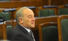 LTV: Сейм больше не поддерживает переизбрание Берзиньша