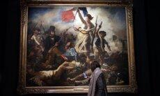 Foto: Ieskats slavenāko un skandalozāko Delakruā darbu izstādē Luvrā