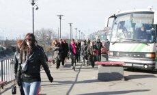 Streikos 'Nordeka' autobusu šoferi