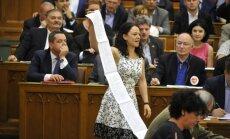 Ungārijā pieņemts ārvalstu finansētu NVO ierobežojošs likums
