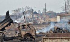 Krāsmatas un vraki: uguns briesmu darbi Hakasijā