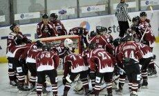 'Rīga' hokejisti cieš zaudējumu Pasaules kausa ceturtdaļfinālā