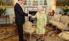 Vējonis ielūdzis karalieni Elizabeti II 2018. gadā apmeklēt Latviju