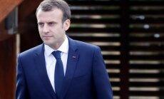 Makrons telefonsarunā Putinam pauž vēlmi pēc intensīvāka dialoga Sīrijas jautājumā