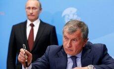 'Rosneft' vadītājs: sakiet ardievas OPEC kartelim