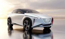 'Nissan' elektriskā apvidnieka prototips – 600 km ar vienu uzlādi