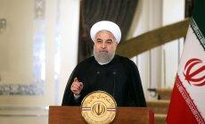 Irāna pasludina 'Daesh' galu; cīņas gan turpinās