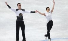 Krievijas daiļslidotāji vadībā pēc Eiropas čempionātā veiktās īsās programmas pāriem