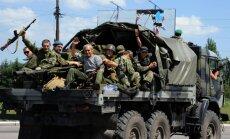 Ukrainā no Krievijas mēģinājušas ielauzties 100 tehnikas vienības