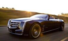 'Cadillac' apstiprina ražošanai flagmani 'Ciel' stilā