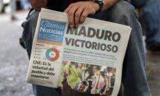 14 Amerikas valstis atsauc vēstniekus no Venecuēlas, protestējot pret prezidenta vēlēšanām