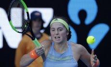 Ostapenko nākamajā WTA rangā sasniegs jaunu karjeras rekordu