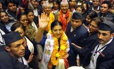 Par Nepālas prezidenti pirmoreiz ievēlēta sieviete