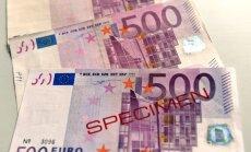 'SEB bankas' bankomātos turpmāk nevarēs iemaksāt 500 eiro banknotes; 'Swedbank' un 'Citadelē' šāda iespēja ir