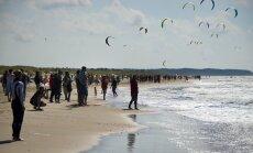 'Kite Party 2011' reģistrējušies vairāk nekā 50 kaitbordisti