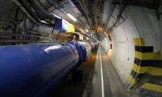 Zebiekste izslēdz Lielo hadronu paātrinātāju