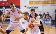 'Jūrmalas' basketbolistiem uzvara ar 12 punktu pārsvaru BBL pusfināla pirmajā spēlē