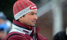 Latvijas biatlona stafetes komanda Pasaules kausa sacensībās apsteidz tikai Ķīnu un Lielbritāniju