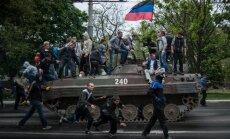 Separātistu 'tautas republikas' varētu atzīt par teroristu organizācijām, pieļauj ministrs