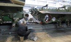 Pasaules lielākais tanku ražotājs no Krievijas Jelgavā būvē vagonu rūpnīcu