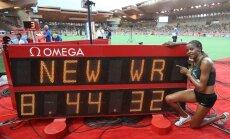 Kenijiete Čepkoeča IAAF Dimanta līgas sacensībās labo pasaules rekordu 3000 m šķēršļu skrējienā