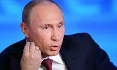 Путин: пирожками на Майдане вымощена дорога в кризис